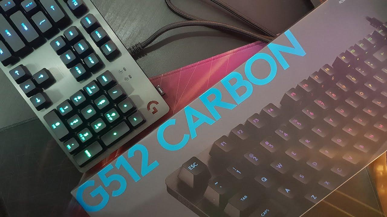 Logitech G512 Carbon Gaming tastatur Mekaniske tastaturer