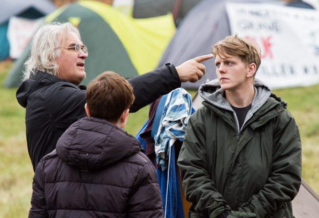 Paul Greengrass instruerer (Foto: Netflix, Erik Aavatsmark)