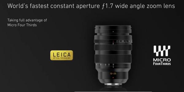 Lyssterk 10-25mm vidvinkelzoom
