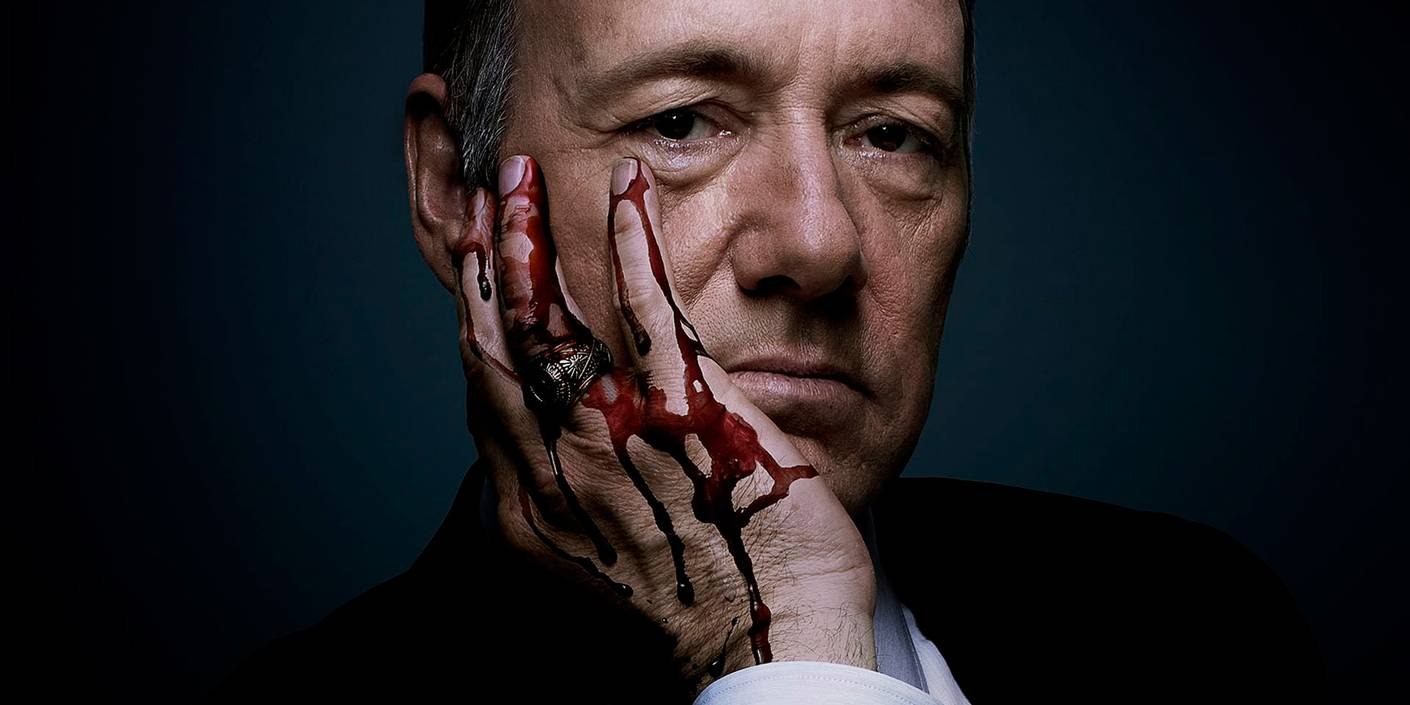 "Kevin Spacey som Frank Underwood i ""House of Cards"". Foto: Netflix"