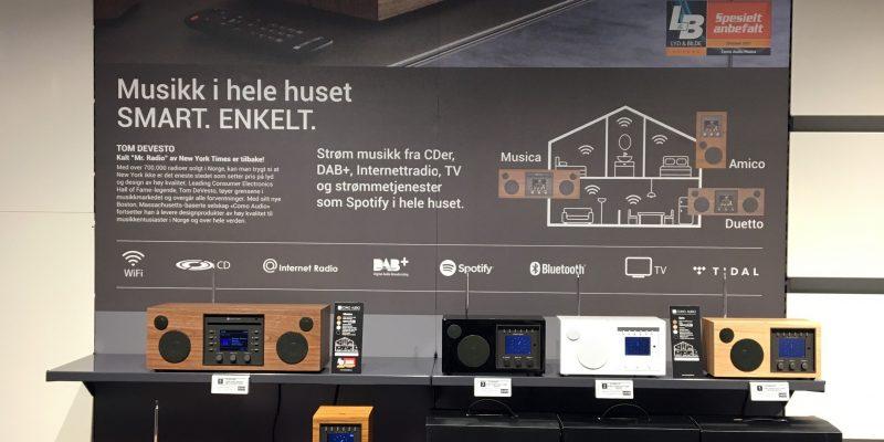 Como Audio viser multirom