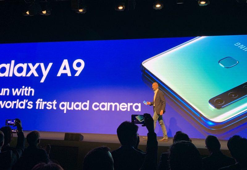 Samsung Galaxy A9 har hele fire kameraer