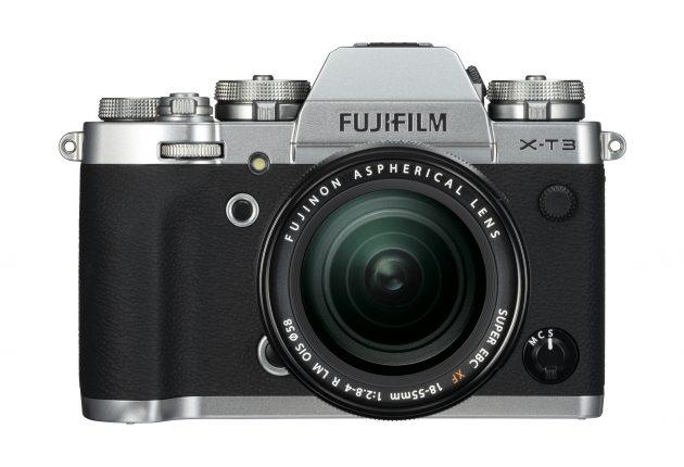 X-T3 finnes også i klassisk sølvgrått. Foto: Fujifilm og Lasse Svendsen