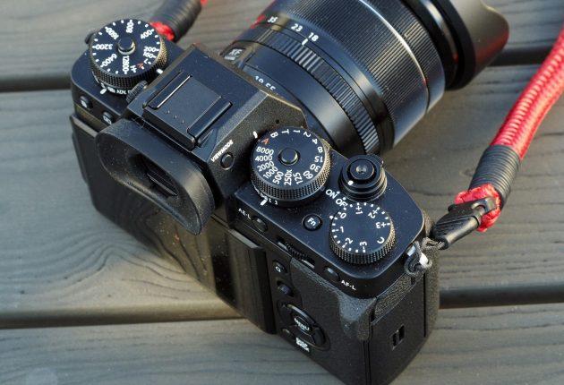 Stort mer oversiktlig enn dette, blir det ikke. Foto: Fujifilm og Lasse Svendsen