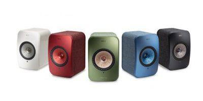 KEF lanserer trådløse LSX stereohøyttalere