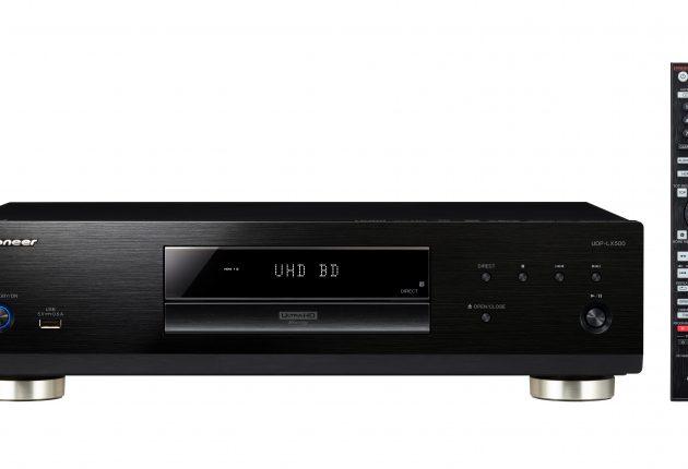 UDP-LX500 er solid bygget, og bakbelyst fjernkontroll kommer godt med. Foto: Pioneer