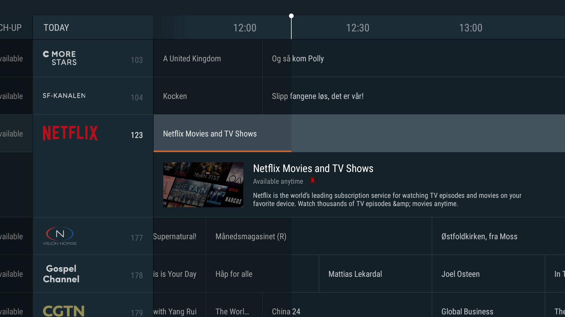 Canal Digital fortsetter å utvikle og forbedre sitt TV-tilbud i tråd med kundenes ønsker og behov. Nå lanseres Netflix som en integrert del av TV-opplevelsen.
