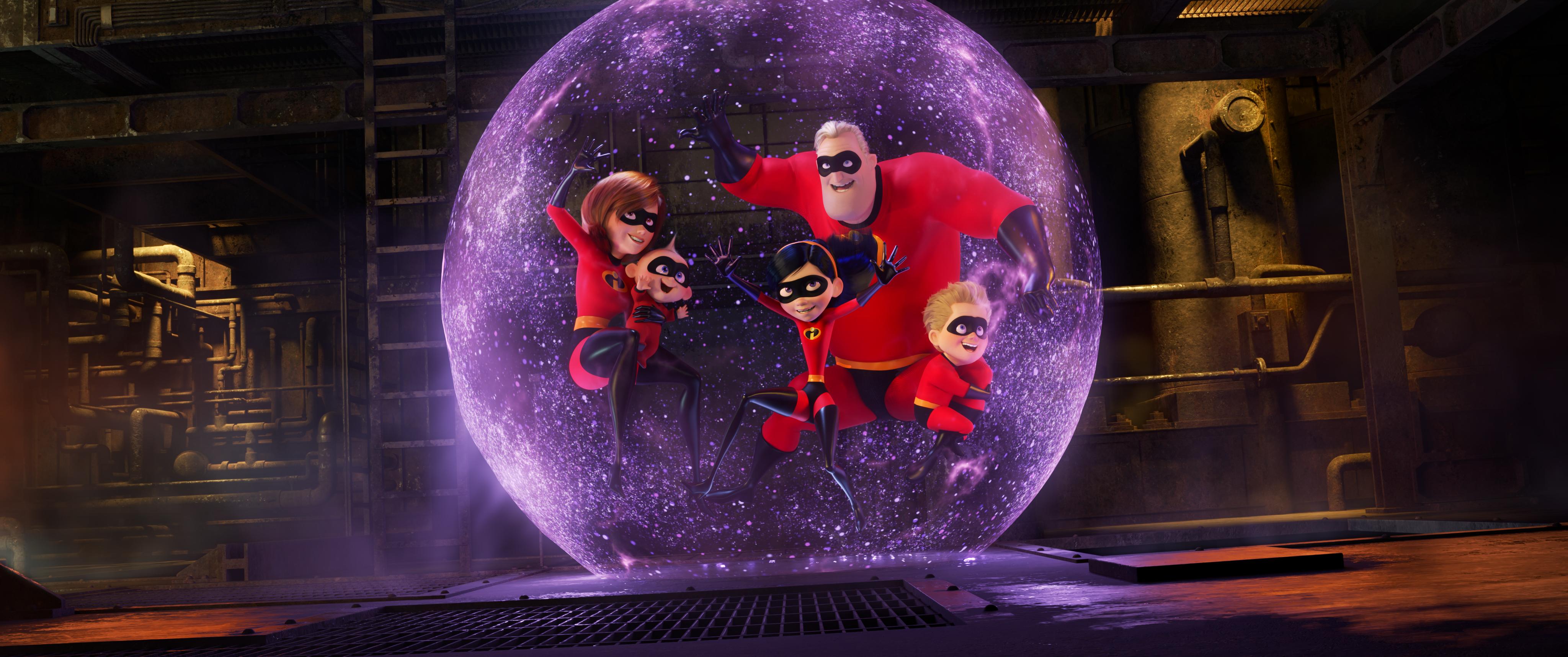 """Superhjältarna 2"" Foto: Walt Disney"
