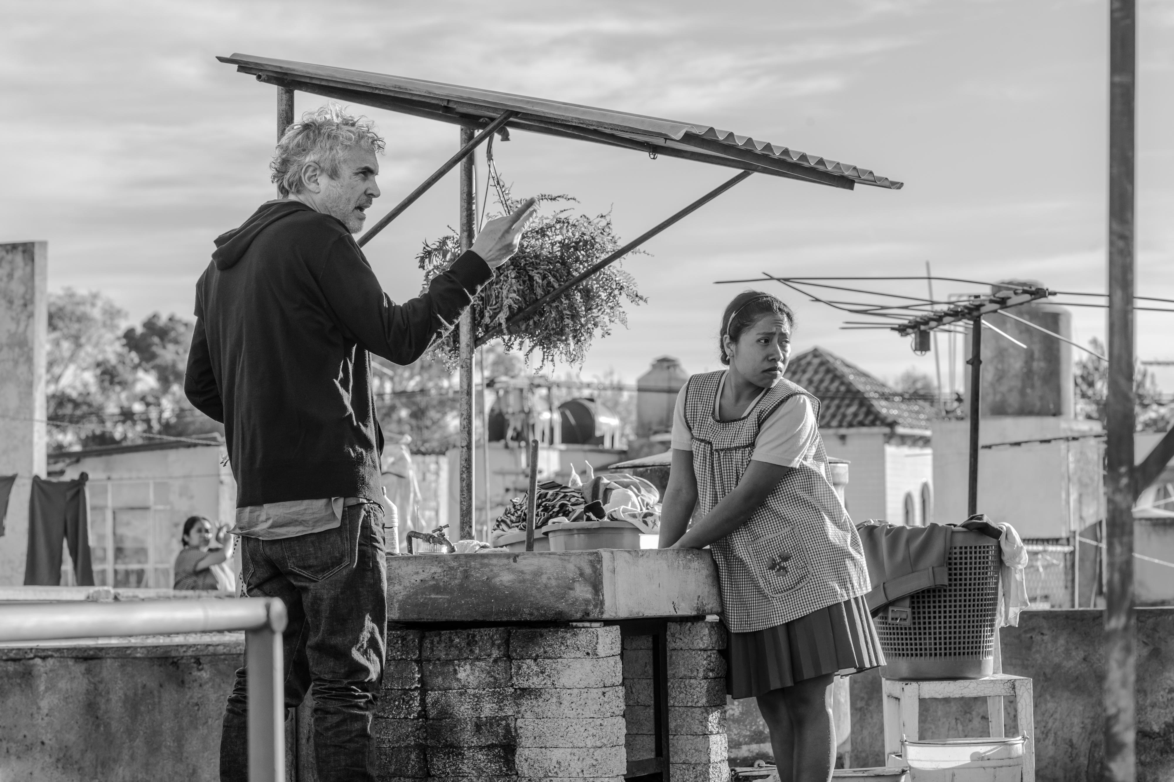 """Regissör Alfonso Cuarón, """"Roma"""" Foto: Netflix"""