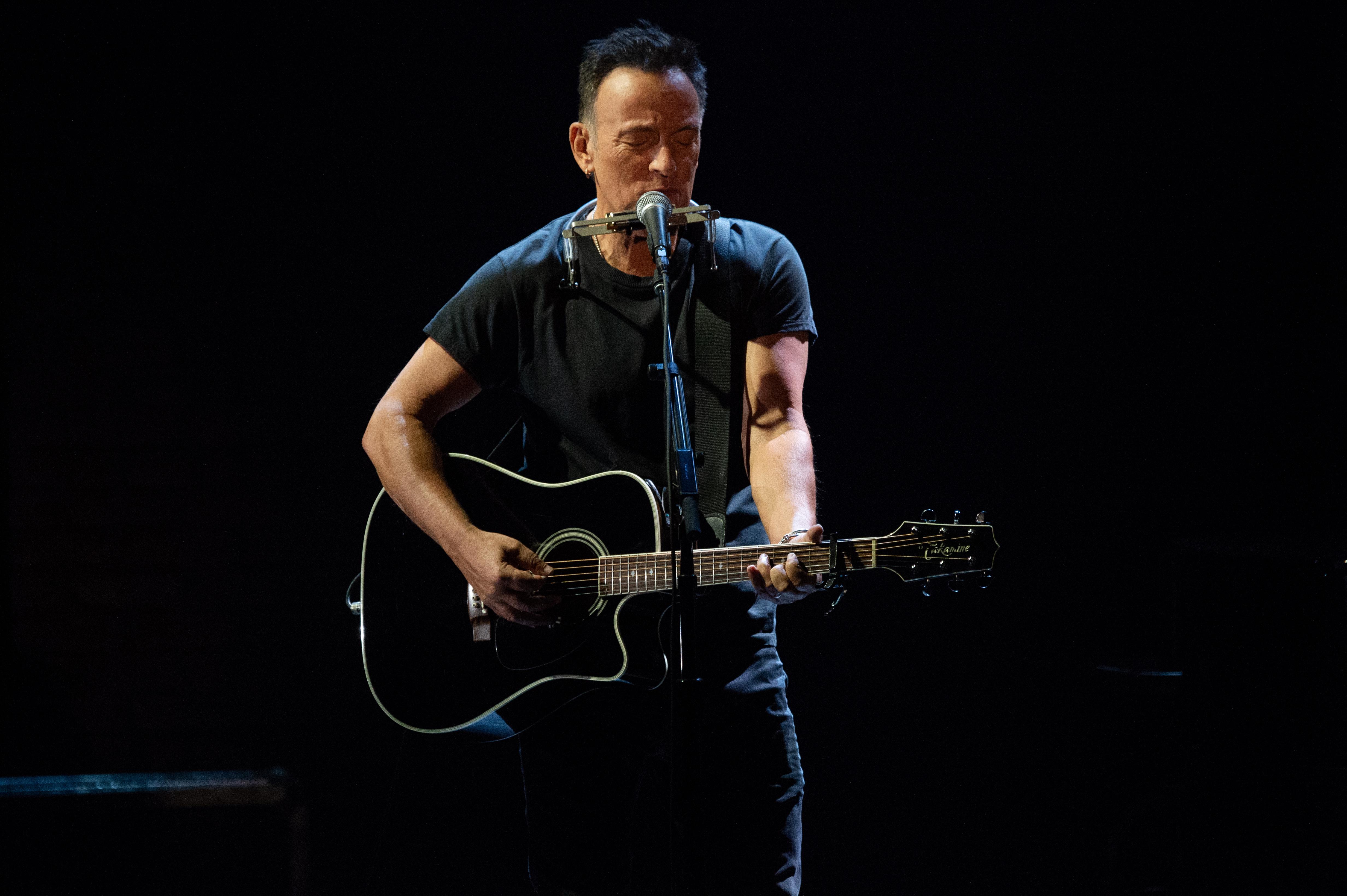 Springsteen har kämpat mot depression i många år. Foto: Netflix