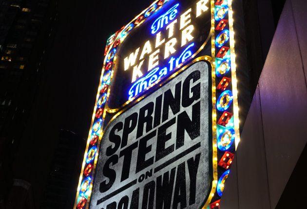 The Walter Kerr Theatre, «Springsteen on Broadway», 01.12.2018 (Foto: Tor Aavatsmark)