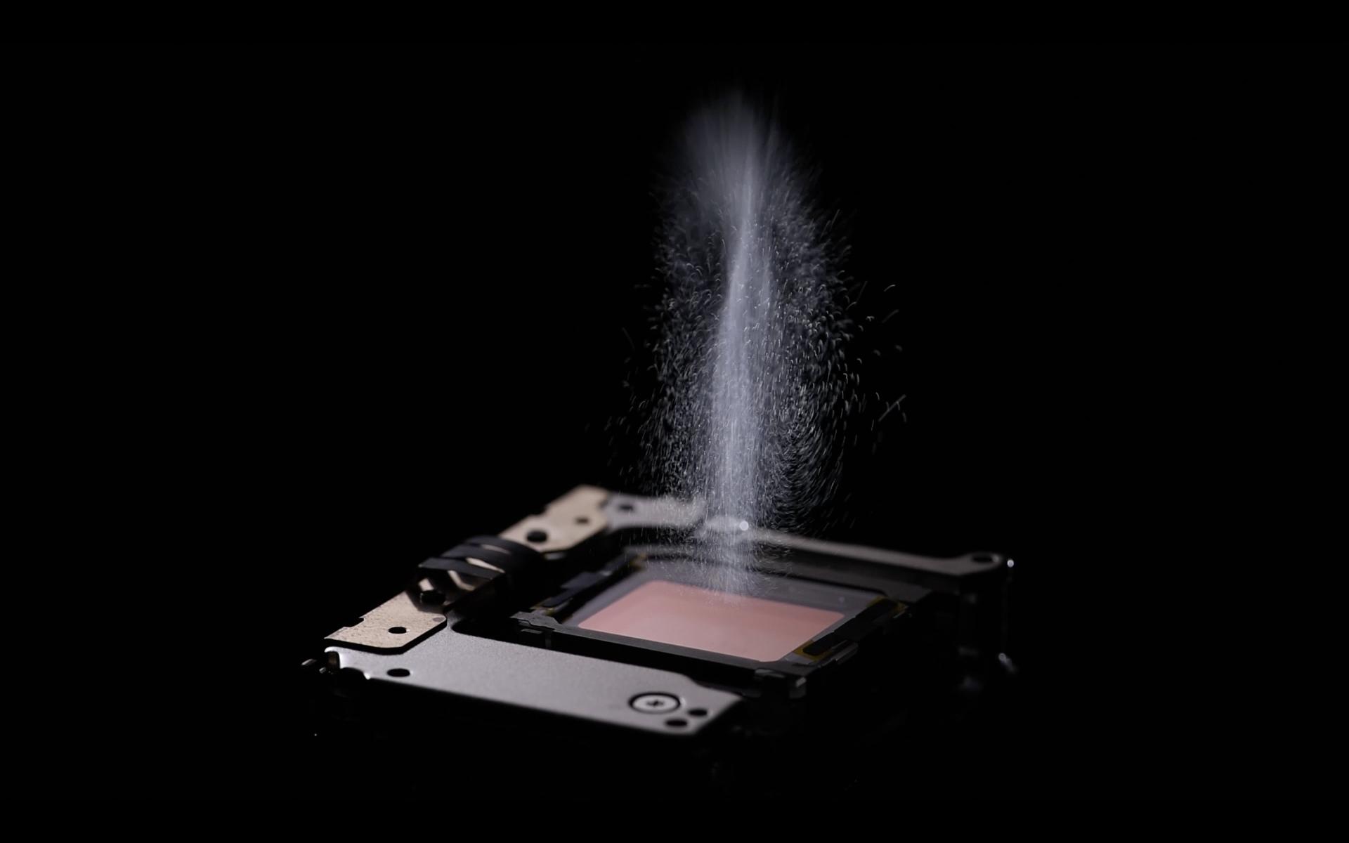 Den elektroniska dammrensningen på sensorn ska vara förbättrad. Foto: Olympus.