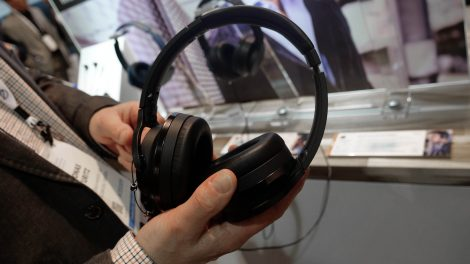 CES: Støydempende toppmodell fra Audio-Technica