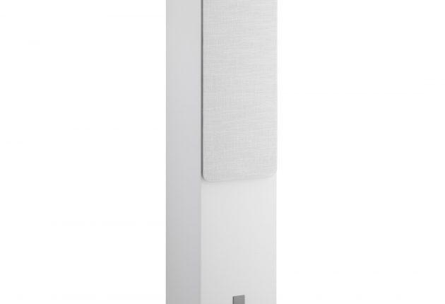 Oberon 7 ser bra ut i hvitt. Du kan også velge lys eik eller mørk valnøtt. Foto: Dali