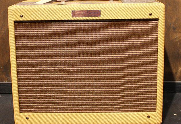 Den originale 1955 Fender Deluxe 5E3 gitarforsterkeren. Foto: Creative Commons