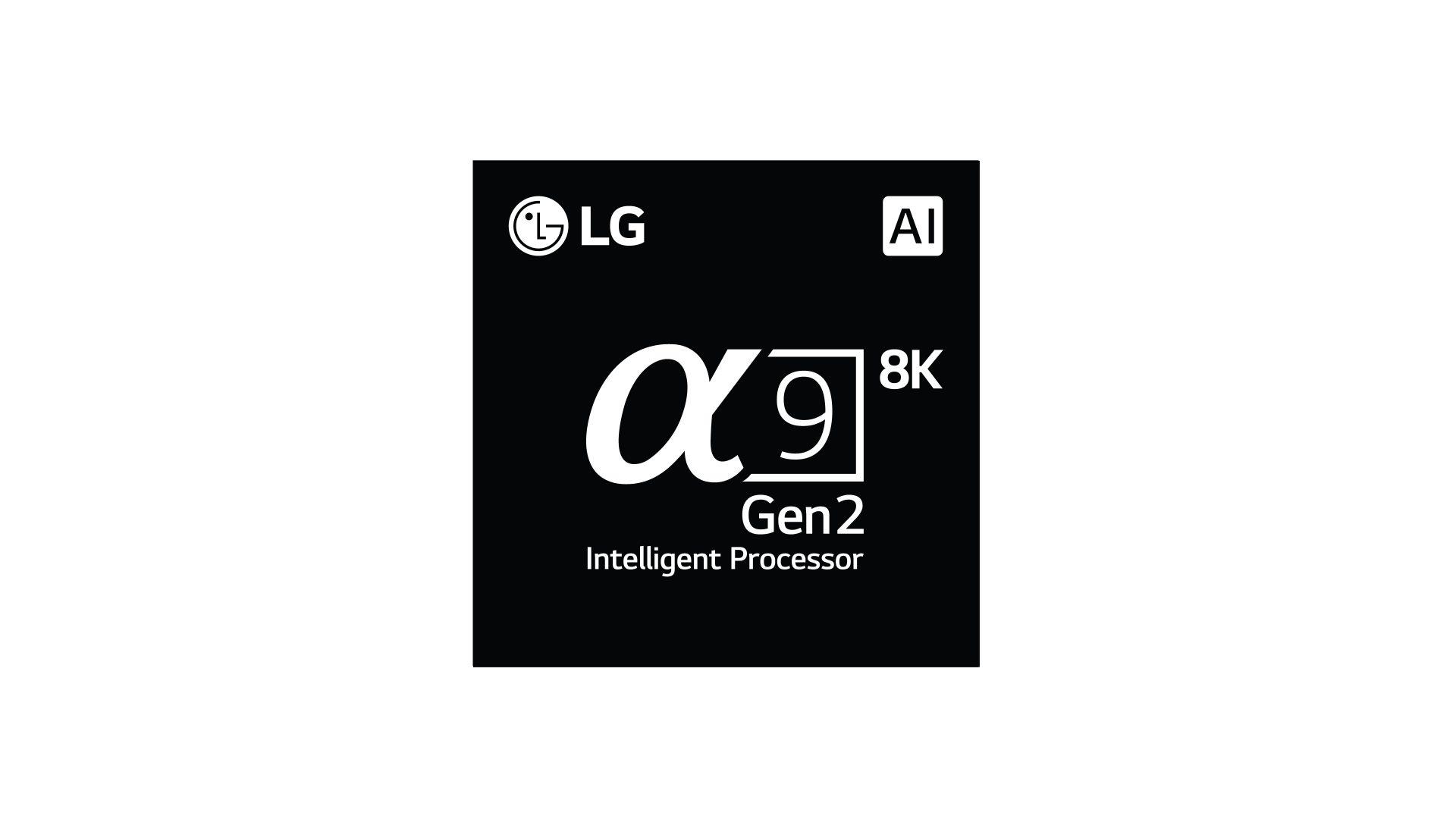 Årets nya OLED-modeller från LG kör med den superstarka Alpha 9 gen 2-processorn med AI-egenskaper. (Foto: LG)