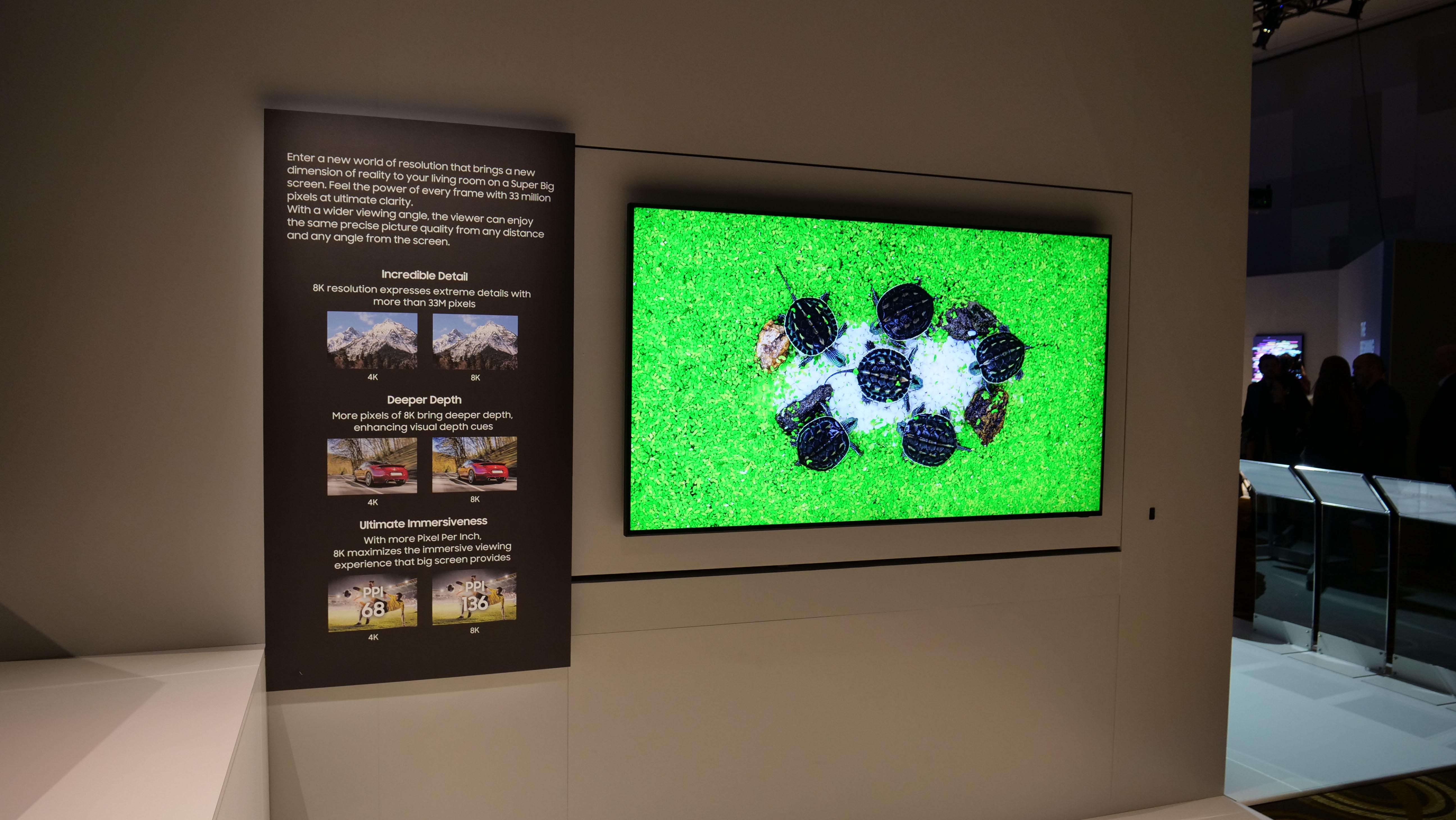 De kommande 8K-TV-apparaterna får HDMI 2.1 och bättre bild. Foto: Geir Gråbein Nordby
