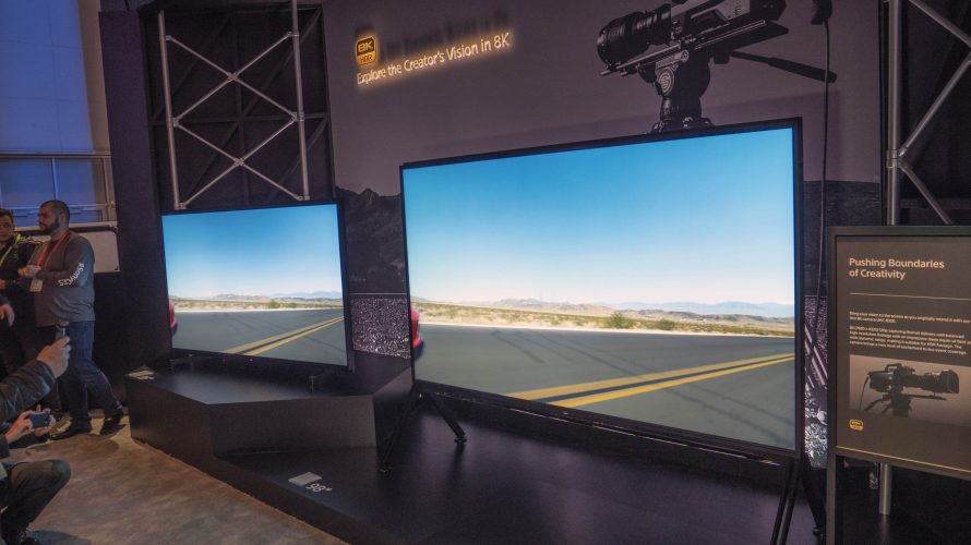 CES: 98 tommers 8K TV fra Sony