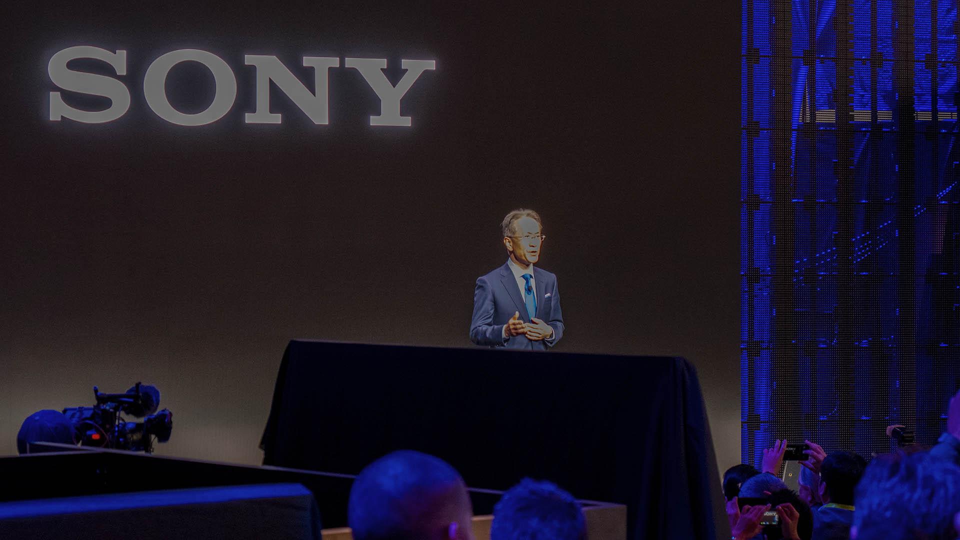 Sony pratade väldigt varmt om sig själva på årets CES-mässa. Foto: Geir Gråbein Nordby