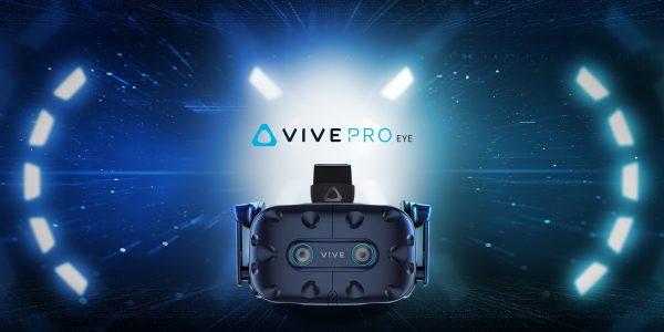 CES 2019: Styr HTC Vive med øynene