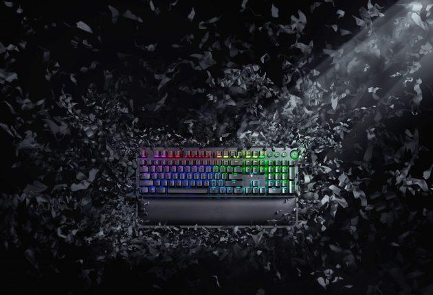 Razer BlackWidow er fortsatt det sorteste og mest stilfulle tastaturet. Foto: Razer
