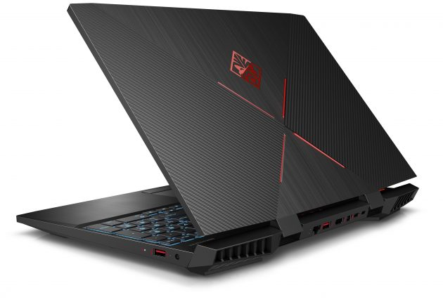 HP Omen 15 dc0805no er en gaming-PC som er laget ifølge boken. Foto: HP