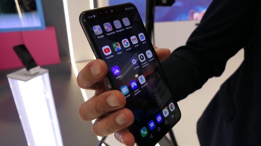 MWC 2019: Ny LG-mobil styres ved å gestikulere med fingrene