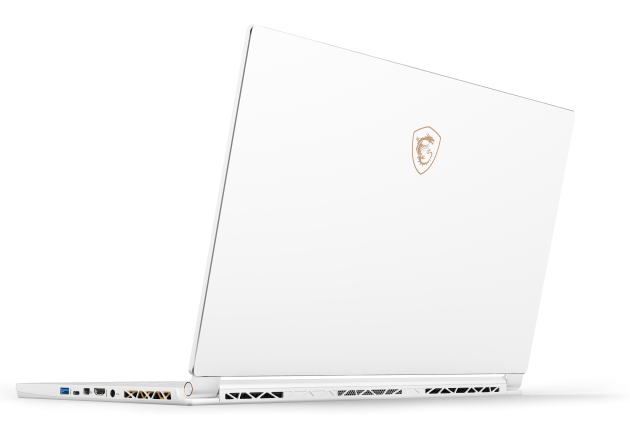 MSi P65 Creator 8RF prøver å være både spillmaskin og pen business-PC på en og samme tid – og den lykkes faktisk med det! Foto: MSi