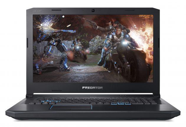 Acer Predator Helios 500 er en av de PC-ene man må bruke begge hendene for å løfte opp av ryggsekken. Foto: Acer