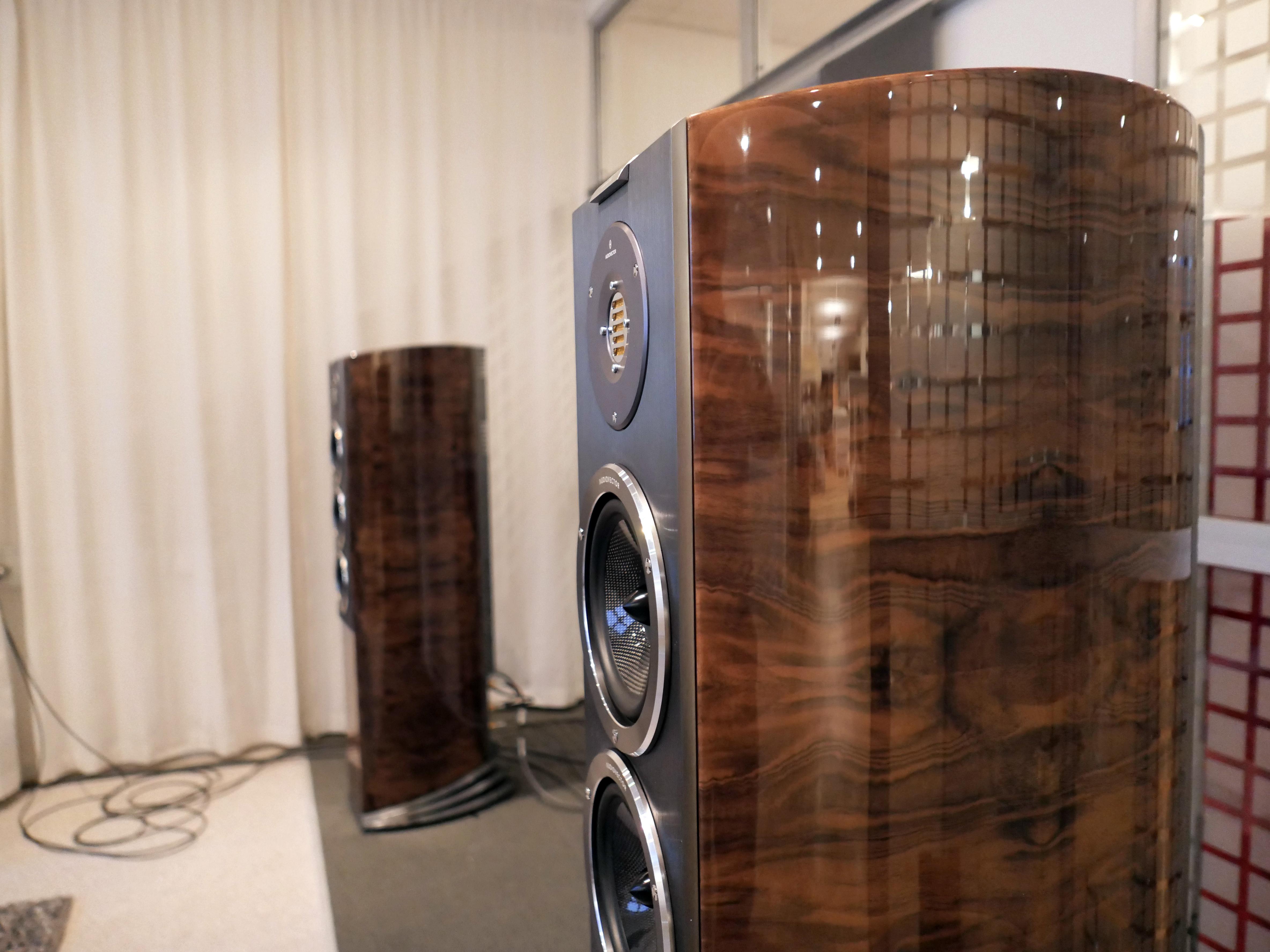 Enligt min åsikt är R8 Audiovectors bästa högtalare. Foto: Lasse Svendsen