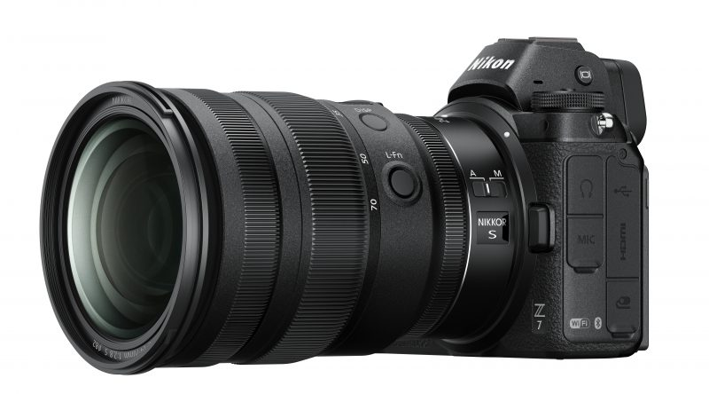 Lyssterk Nikon-zoom