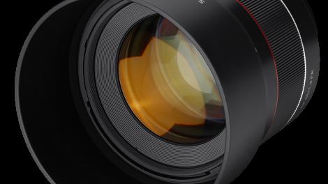 Lyssterkt portrettobjektiv for Sony alpha