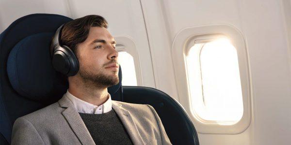 5 trådløse støyreduserende hodetelefoner