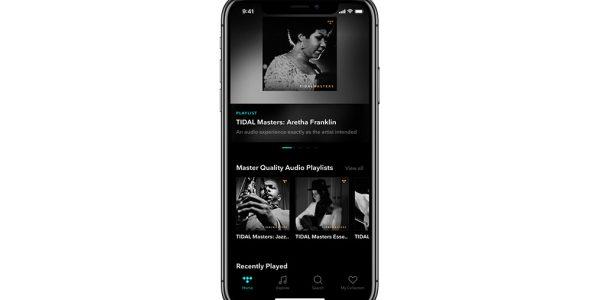 Tidal MQA iOS