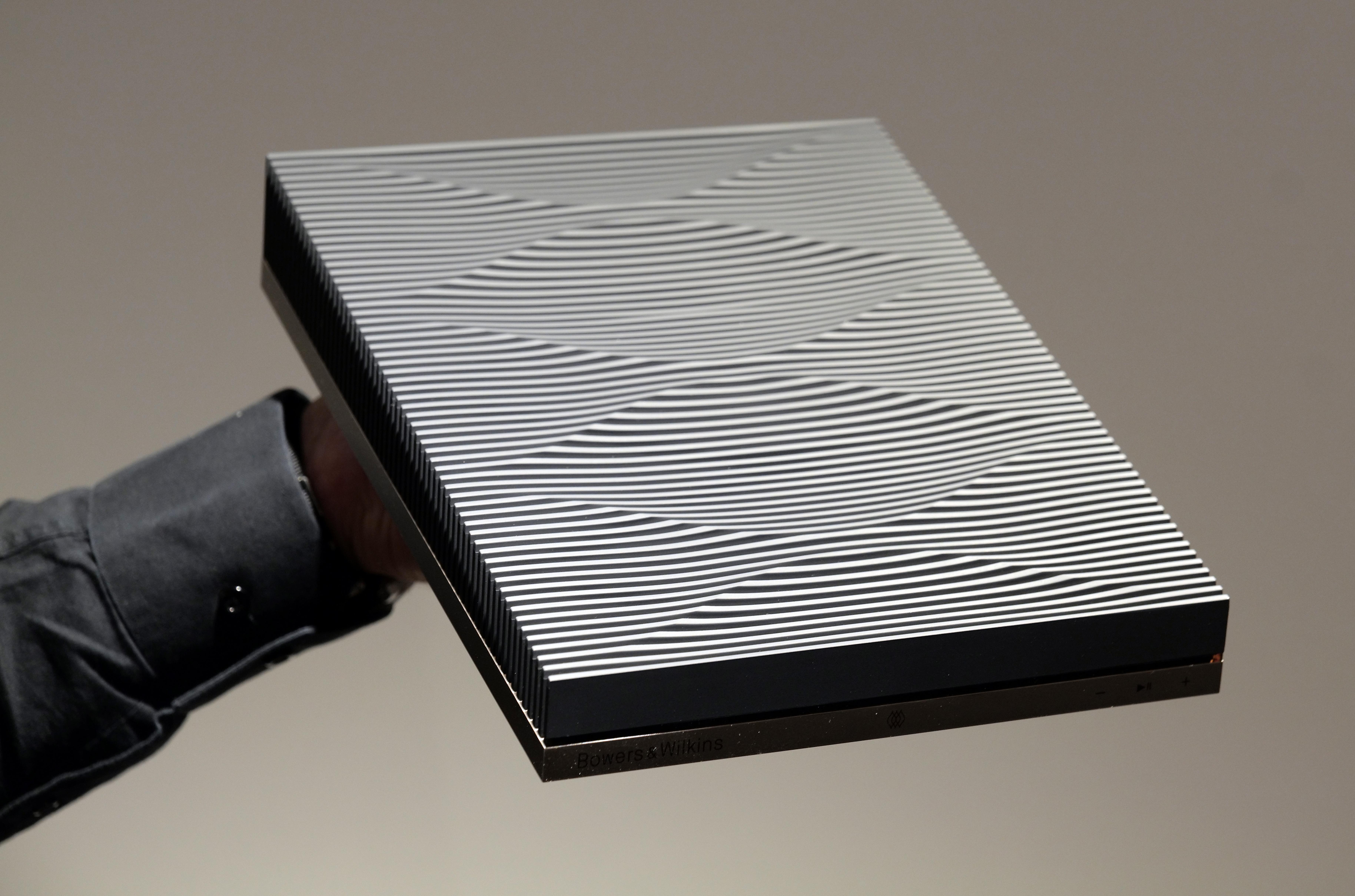 Den trådlösa anslutningsboxen Formation Audio. Foto: Lasse Svendsen