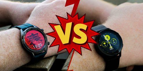 Smartklokker - Huawei vs. Samsung