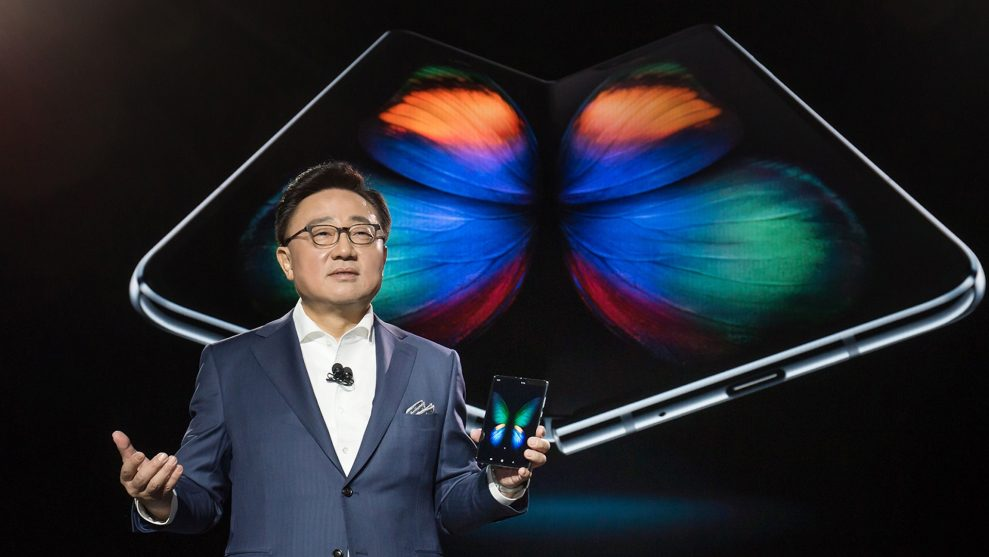 Samsung Galaxy Fold kan bestilles 26. april