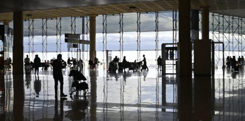 Flygplatser är en del av resan och ett bra ställe att hitta kontraster.