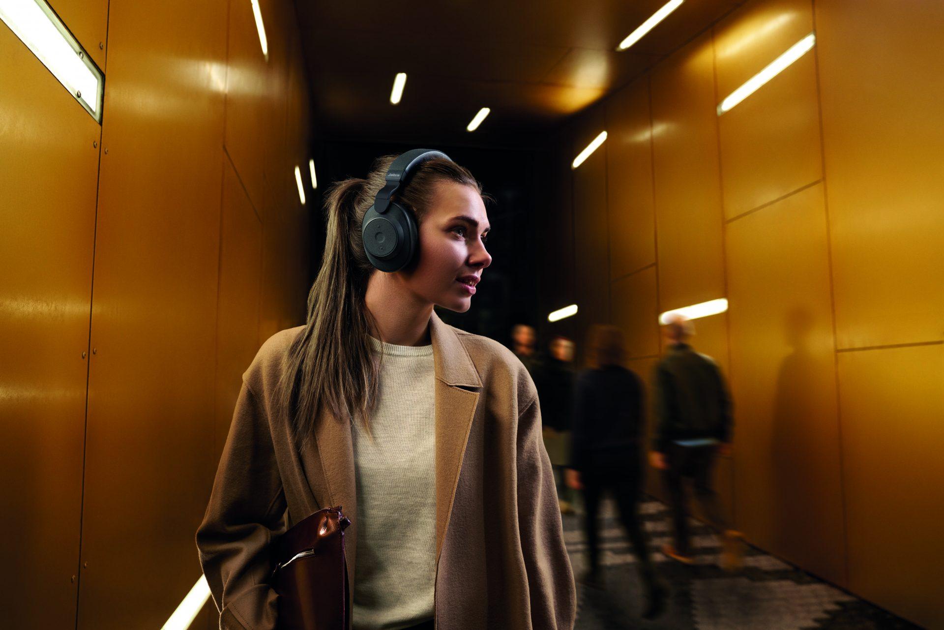Jabra Elite 85h trådløse hodetelefoner Hodetelefoner