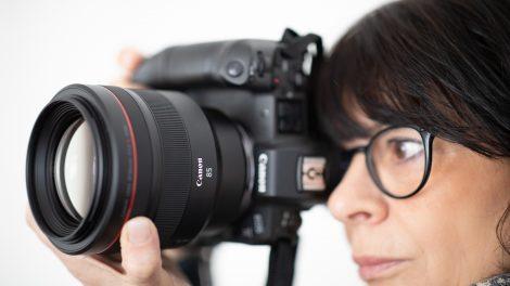 Lyssterkt 85mm portrettobjektiv