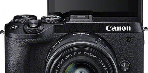 Canon EOS M6 II skyter 30 bps!