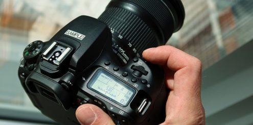 Canon slipper ny speilrefleks