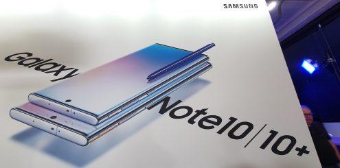Ny Samsung Galaxy Note 10 kommer i to slanke versjoner