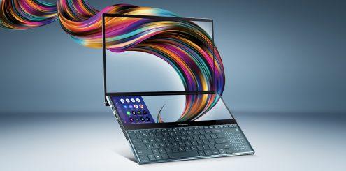 Ny bærbar fra Asus har 4K og to skjermer