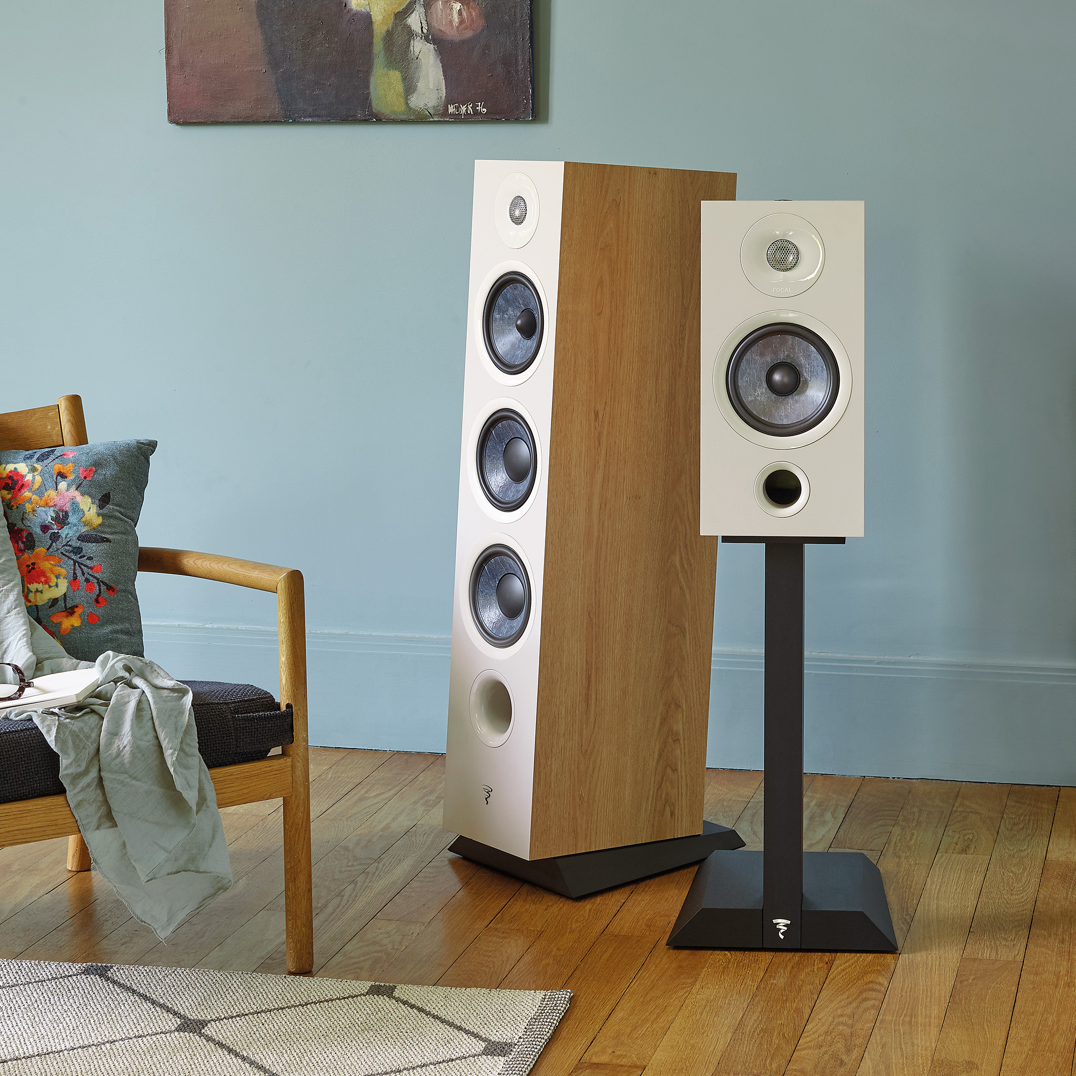 Focal 826 & 806 LightWood