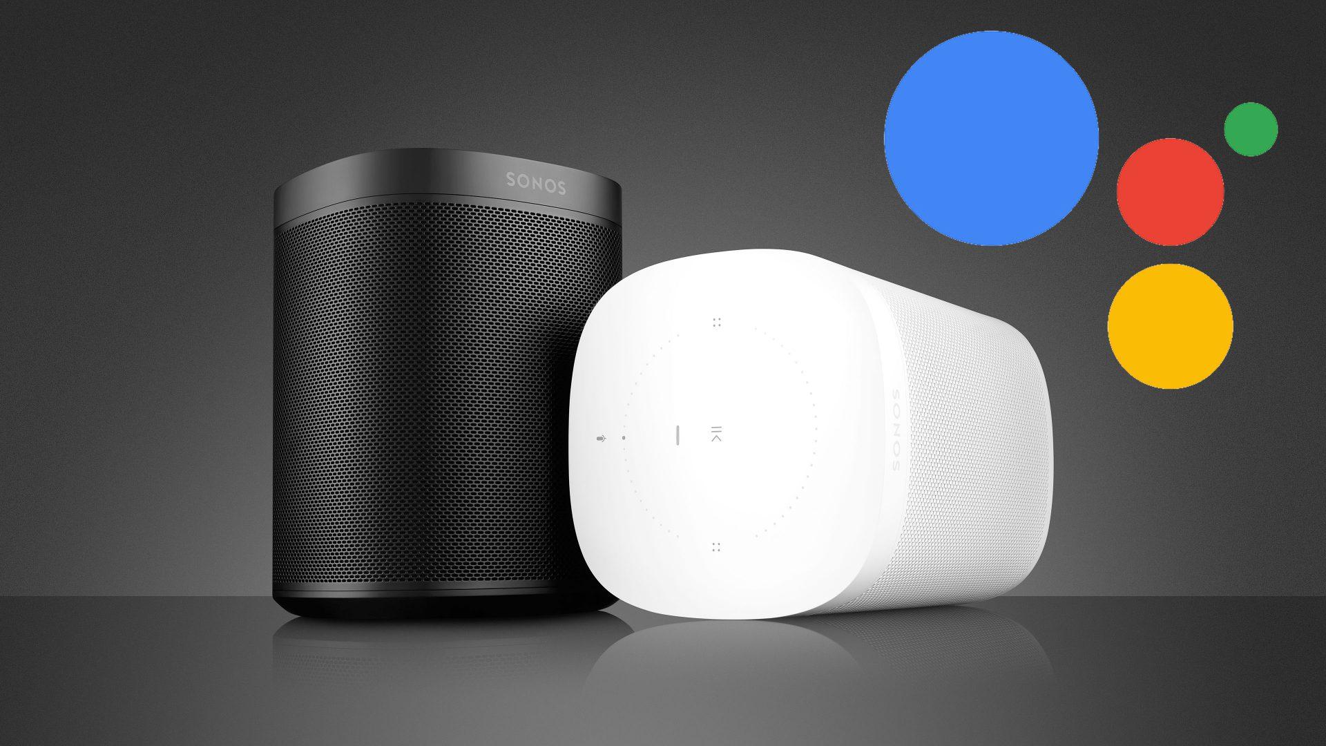 Sonos One Google Assistant