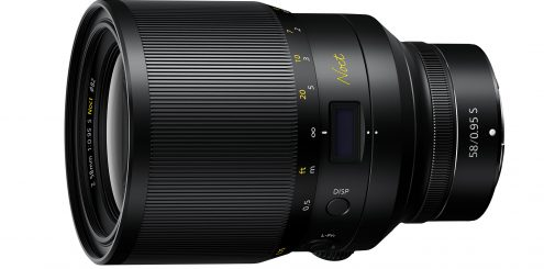 Nikons 58 f0.95 ser i mørket