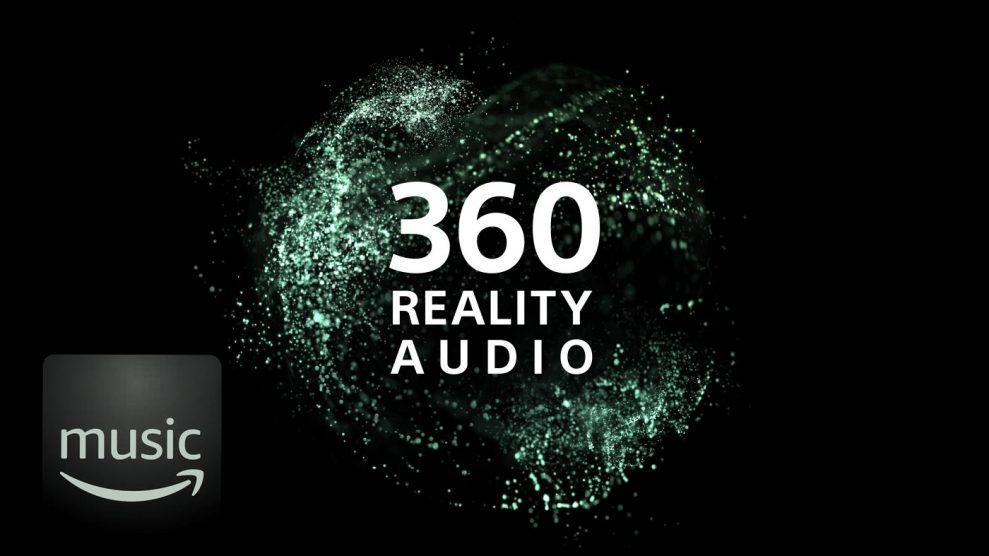 Sony 360 reality audio on amazon music HD