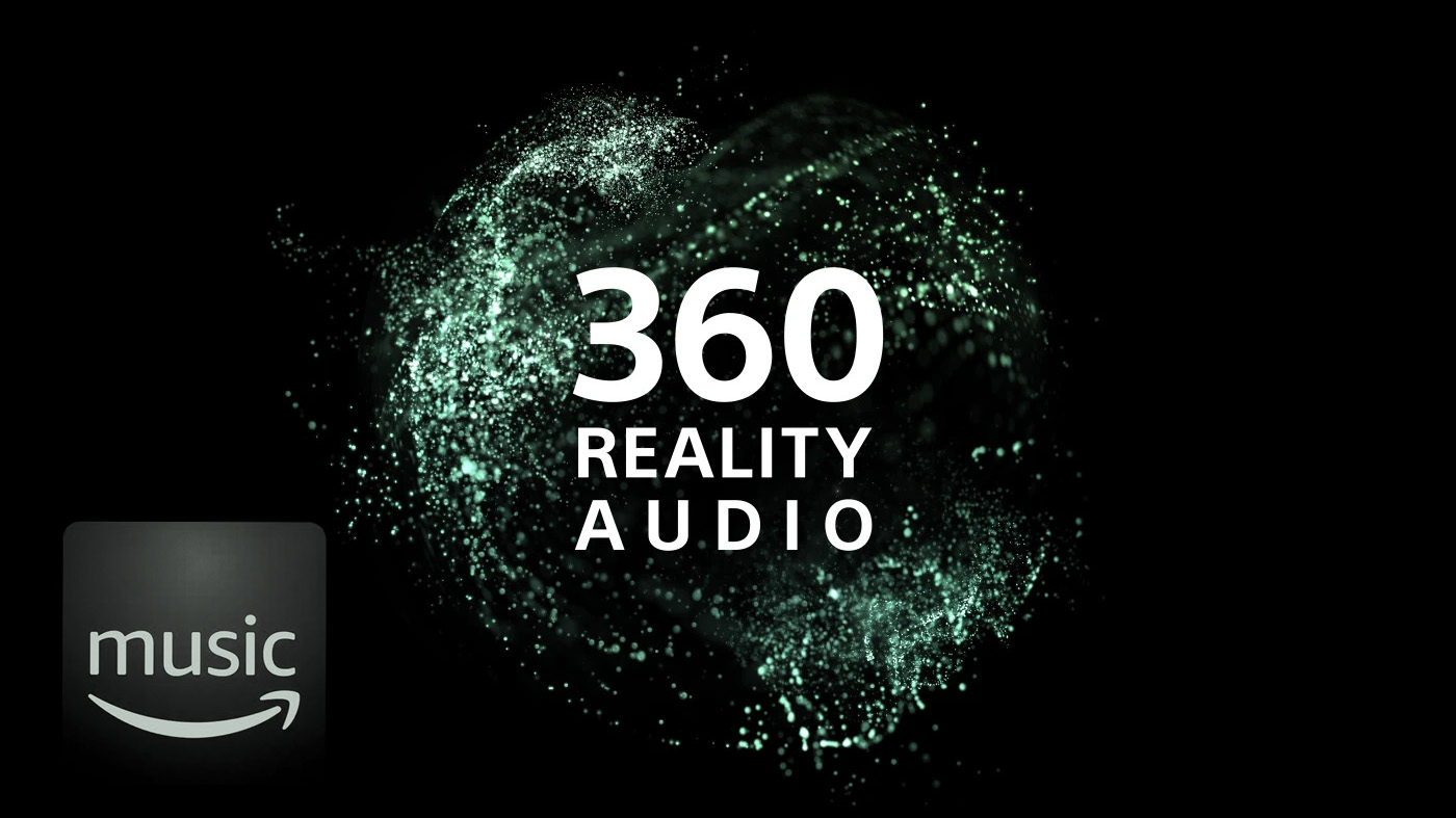 Sony 360 reality audio on amazon music HD