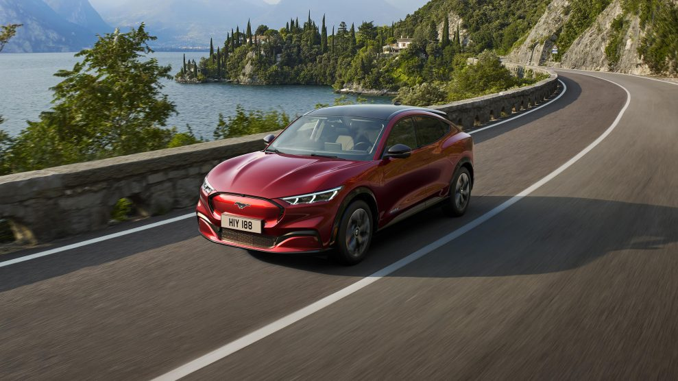 Fords elektriske SUV får lyd fra B&O